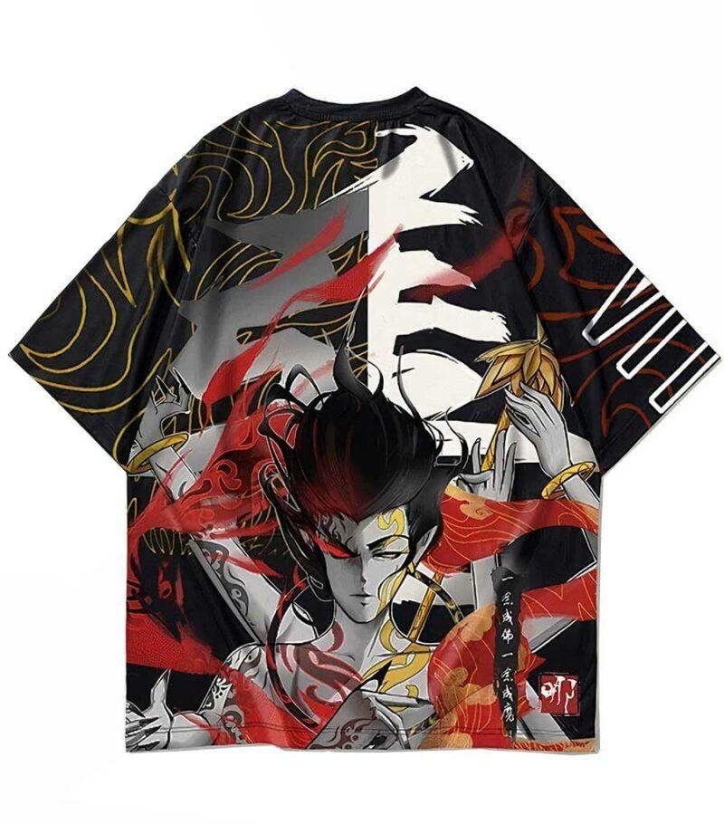 Dragon Tshirt Japanese Demon Oni