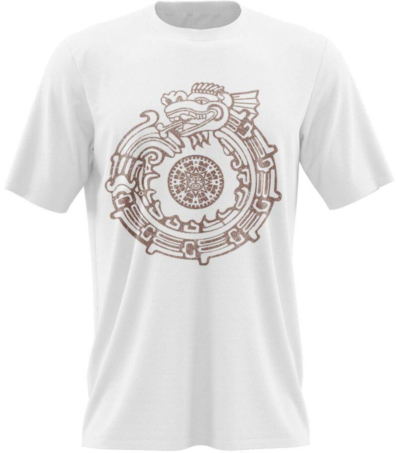 Dragon Tshirt Aztec Premium Cotton