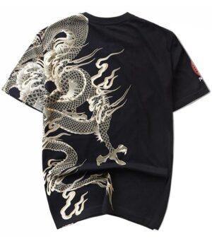 Dragon Tshirt White Spirit Art