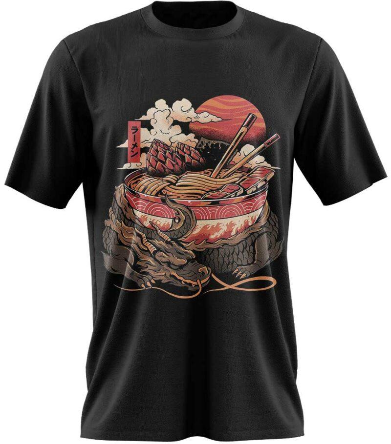 Dragon Tshirt Chinese Art