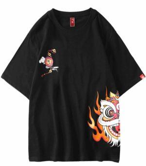 Dragon Tshirt Chinese Festival Organic Cotton