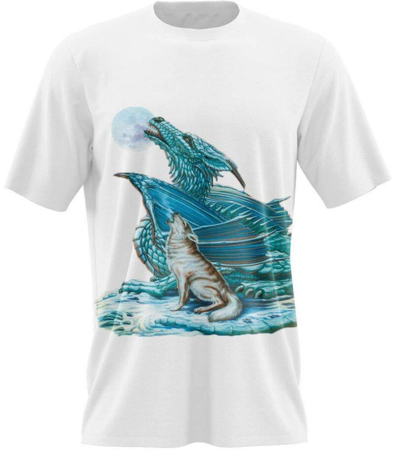 Dragon Tshirt Frozen Beast