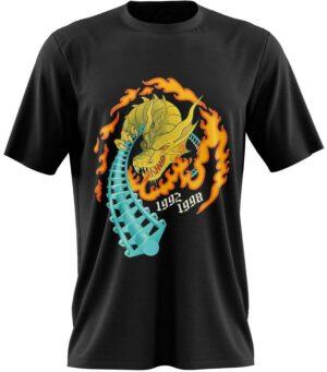 Dragon Tshirt Roller Coaster