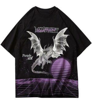 Dragon Tshirt Three Dimensions Art