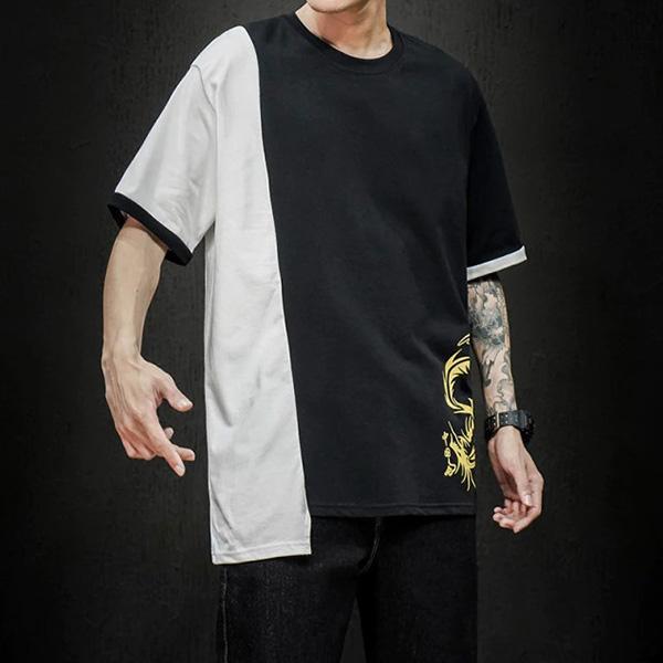 T-Shirt Dragon Double Face