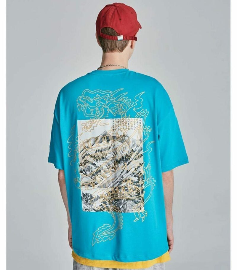 Dragon Tshirt Elevation Biological Cotton