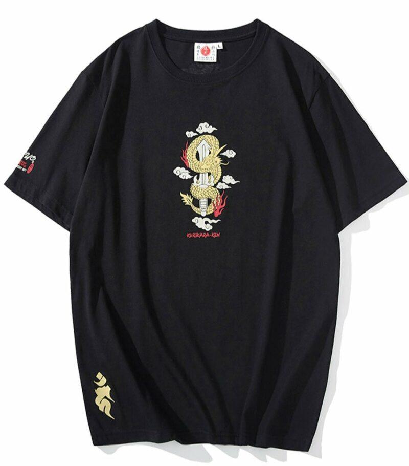 Dragon Tshirt Divine Sword Cotton