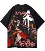 Dragon Tshirt Cherry Blossom Polyester