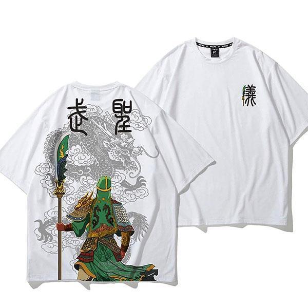 Dragon Tshirt Guan Yu War God