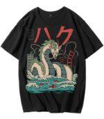 Dragon Tshirt Haku Streetwear Style
