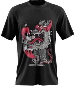 Dragon Tshirt Japanese Art