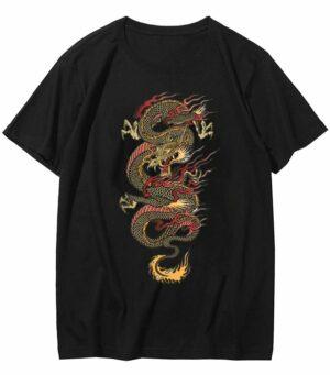 Dragon Tshirt Imperial Japanese Art