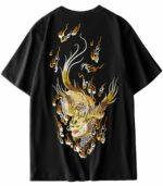 Dragon Tshirt japanese Kirin Organic Cotton