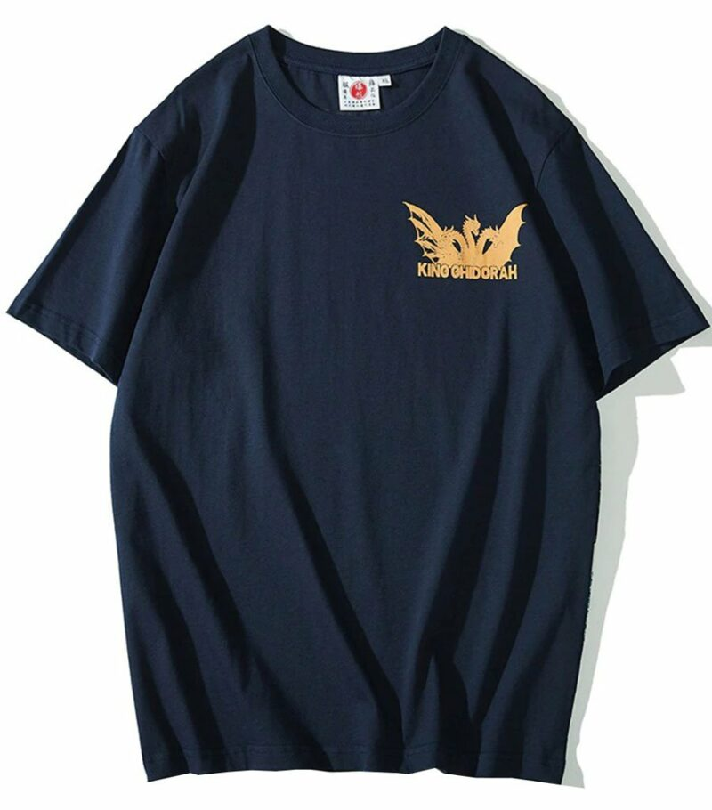 Dragon Tshirt Ghidorah Full Cotton
