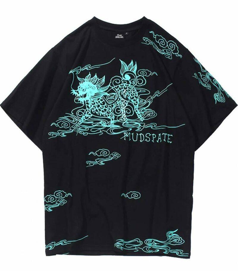 Dragon Tshirt Kirin Cotton