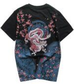 Dragon Tshirt Brave Man Organic Cotton