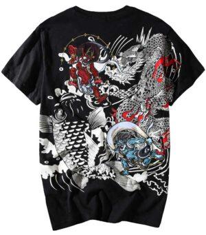 Dragon Tshirt Prajna Organic Cotton