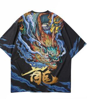 Dragon Tshirt Ryujin Oriental Art