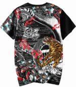 Dragon Tshirt Tiger Organic Cotton