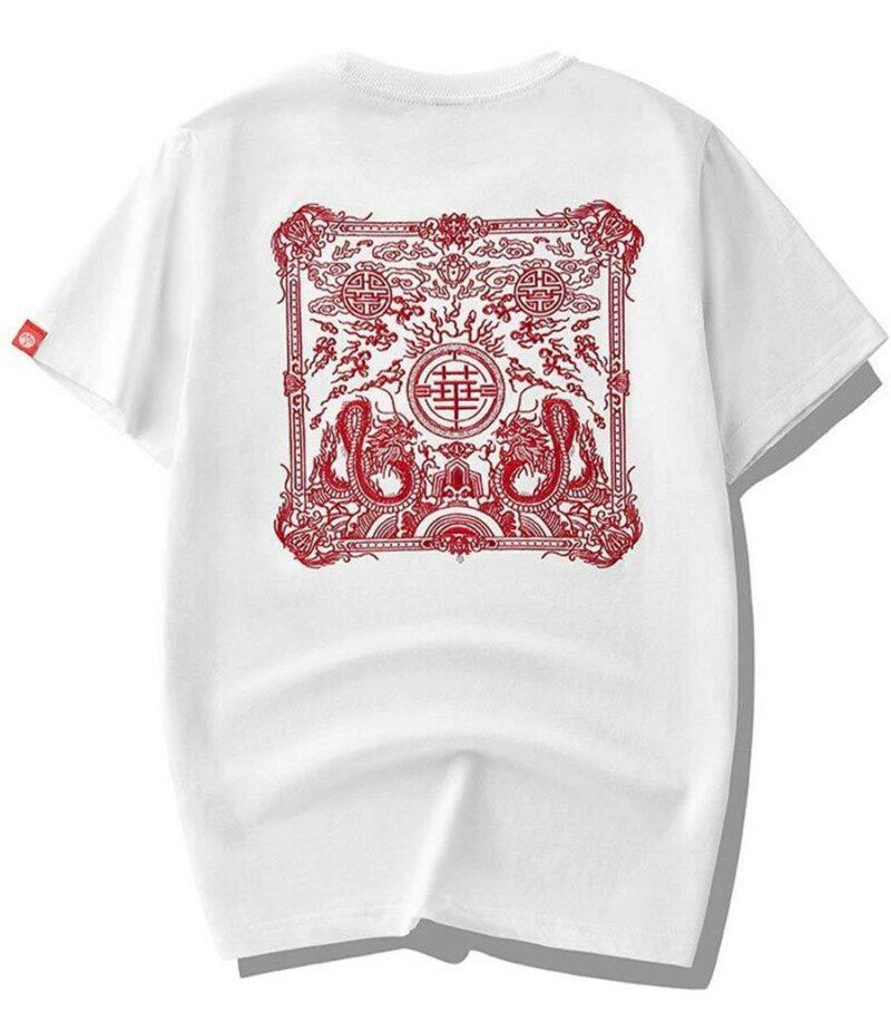 Dragon Tshirt Vintage Style Streetwear Art