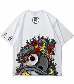 Dragon Tshirt Yin Yang Prophecy
