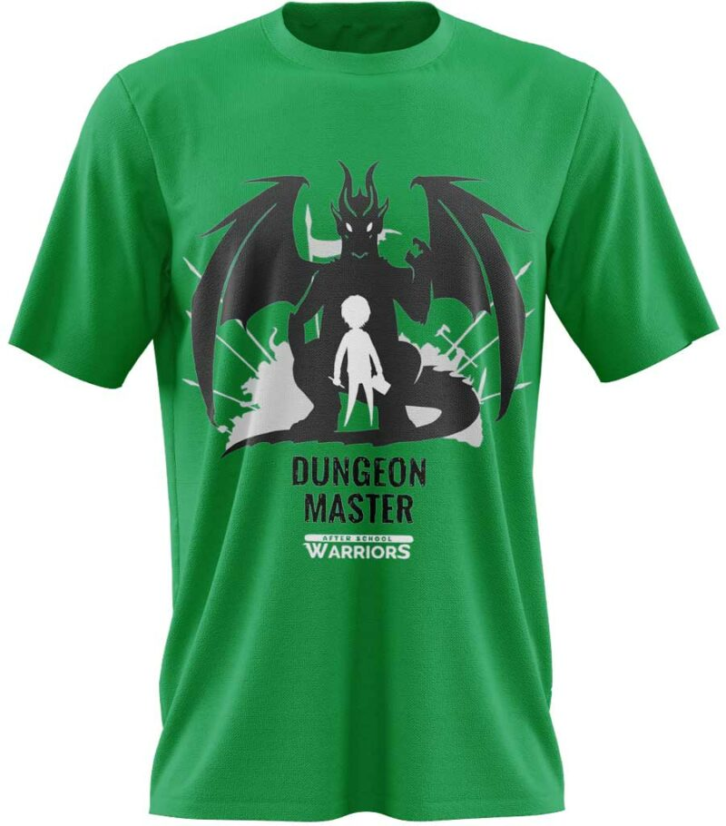 t-shirt dungeon master