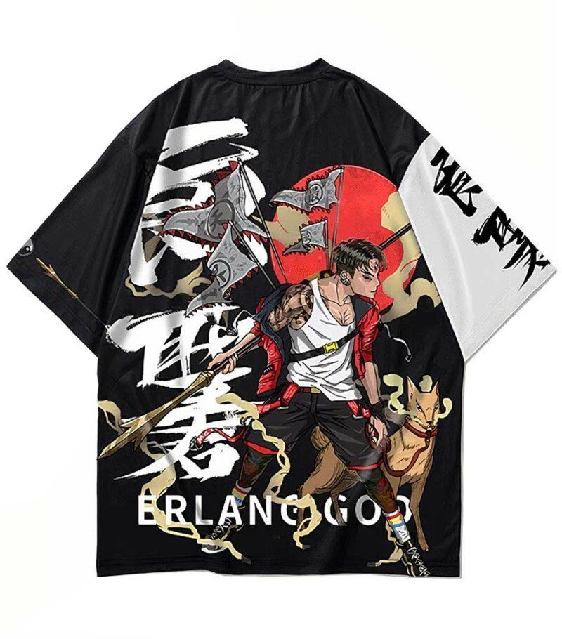 Dragon Tshirt Erlang Shen