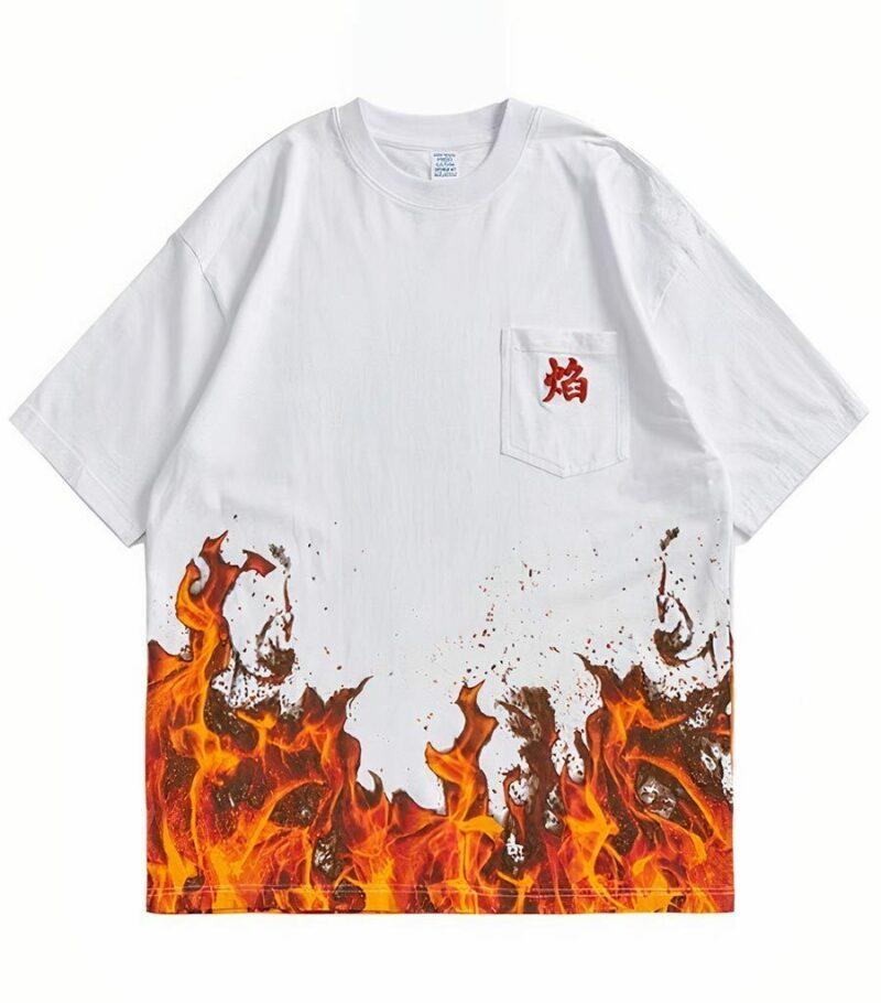 Dragon Tshirt Flames of Hell
