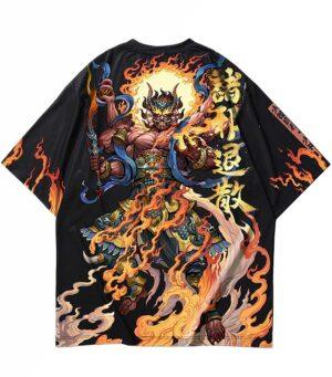 Dragon Tshirt Fujin Oriental Streetwear
