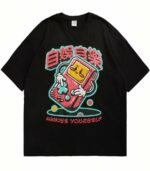 Dragon Tshirt Gameboy Retro Style