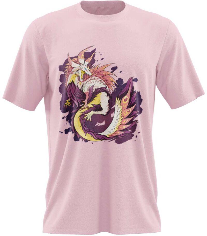t-shirt geek dragon