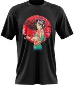 Dragon Tshirt Geisha Art