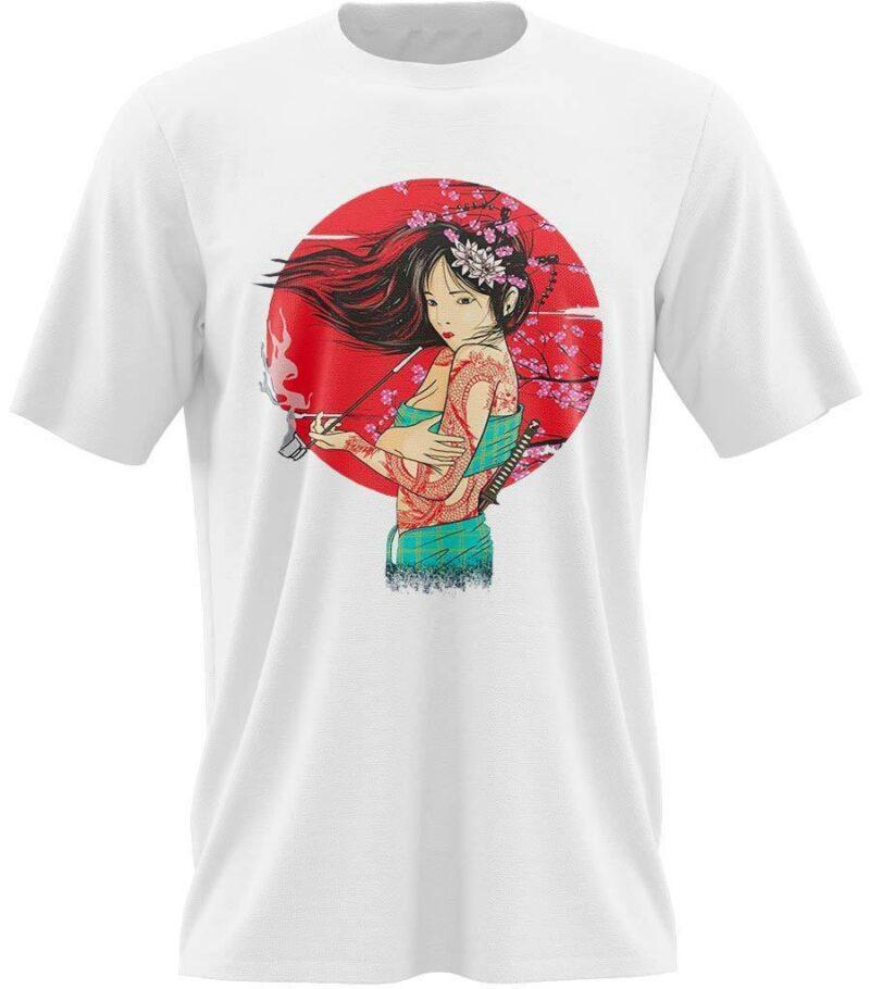 T Shirt Geisha