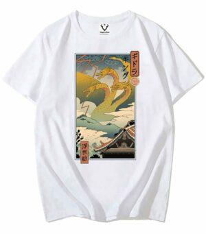 Dragon Tshirt Ghidorah Monster Legendary