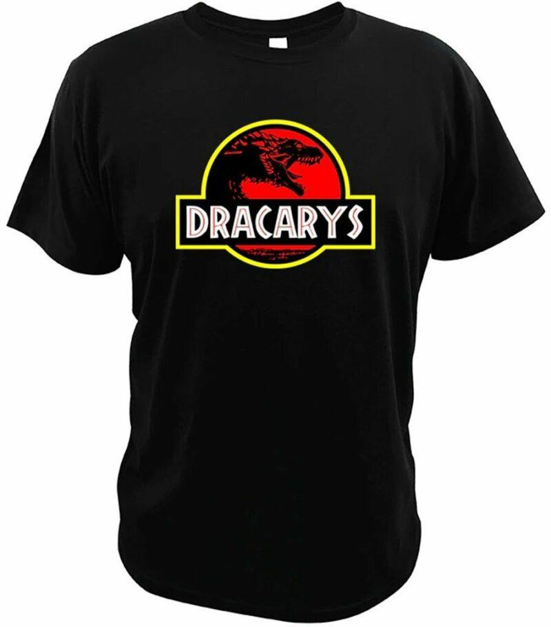 Dragon Tshirt Dracarys Organic Cotton