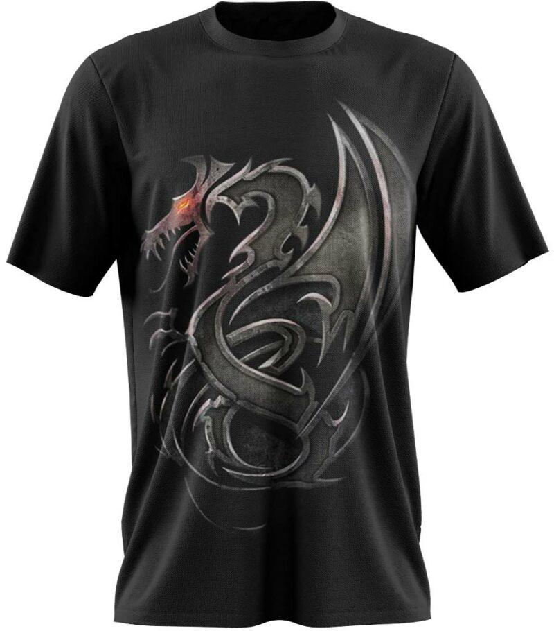 Dragon Tshirt Printed Dark Dragon