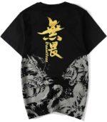 Dragon Tshirt Original Kanji Design Cotton