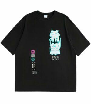 Dragon Tshirt Kanji Harajuku Biological Cotton