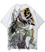 Dragon Tshirt Kunoichi Streetwear Polyester