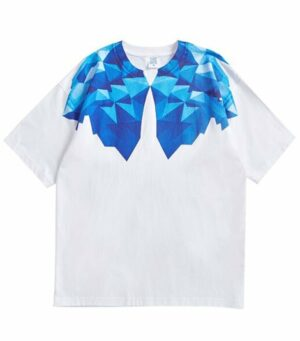 Dragon Tshirt Glacial Wolf Biological Cotton