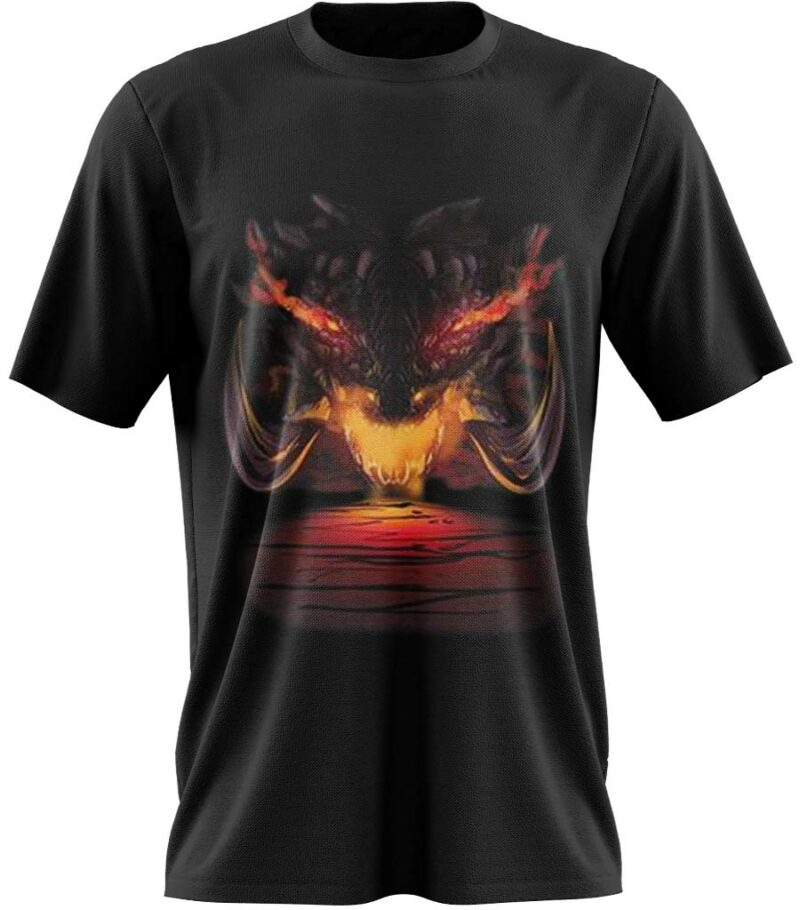 Dragon Tshirt Crypte Fire