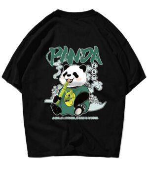 Dragon Tshirt Panda Pattern