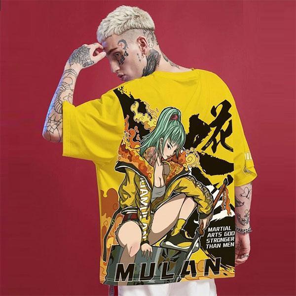 T-Shirt Mulan Streetwear