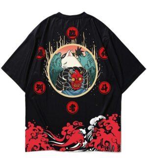 Dragon Tshirt Neko Oni Style