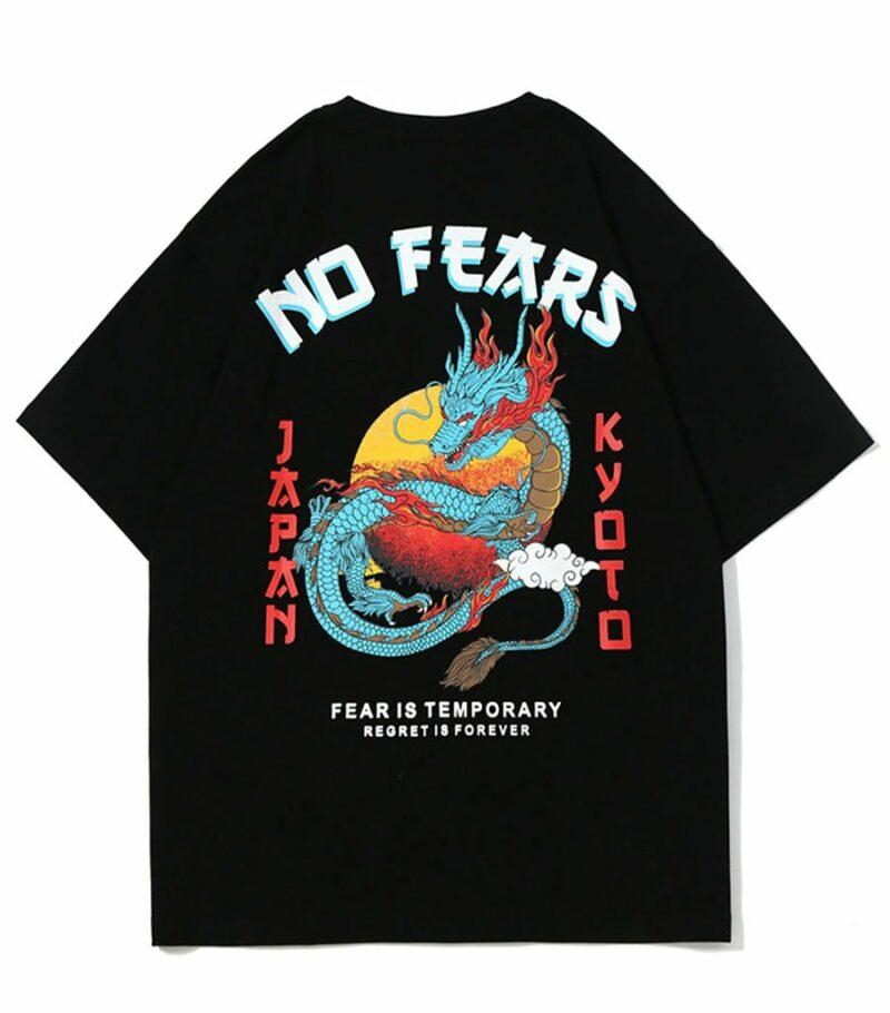 Dragon Tshirt No Fear Streetwear