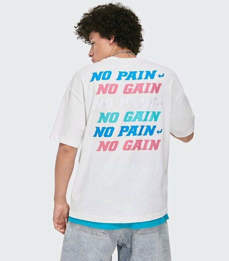 Dragon Tshirt No Pain No Gain