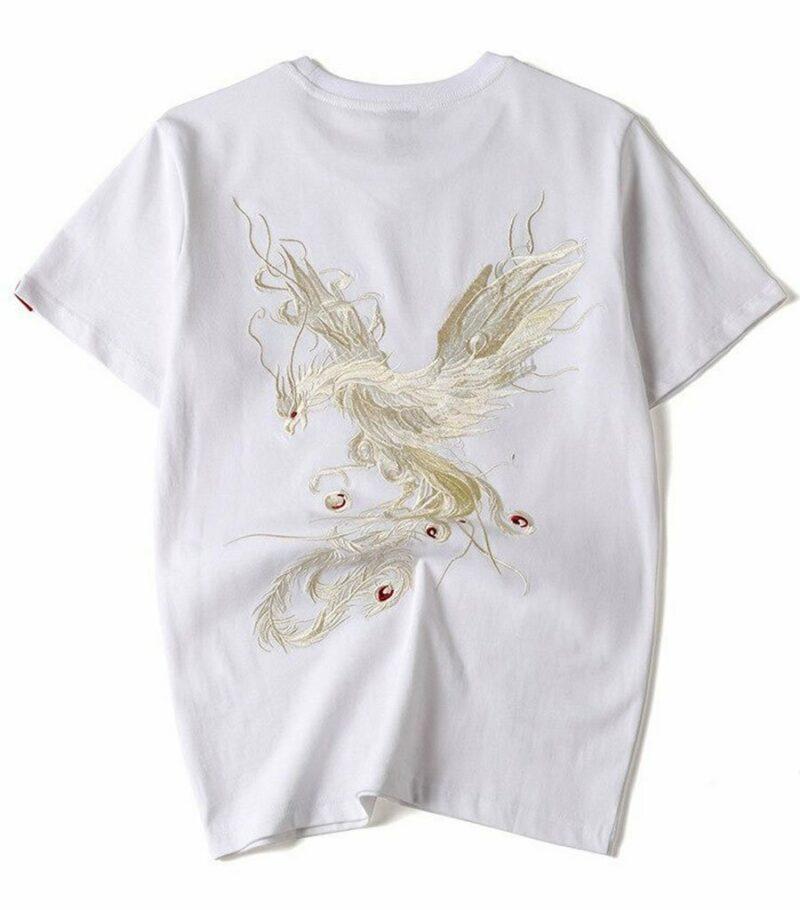 Dragon Tshirt Vermilion Bird Streetwear Design