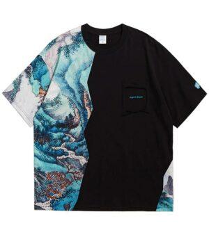 Dragon Tshirt Landscape Biological Cotton
