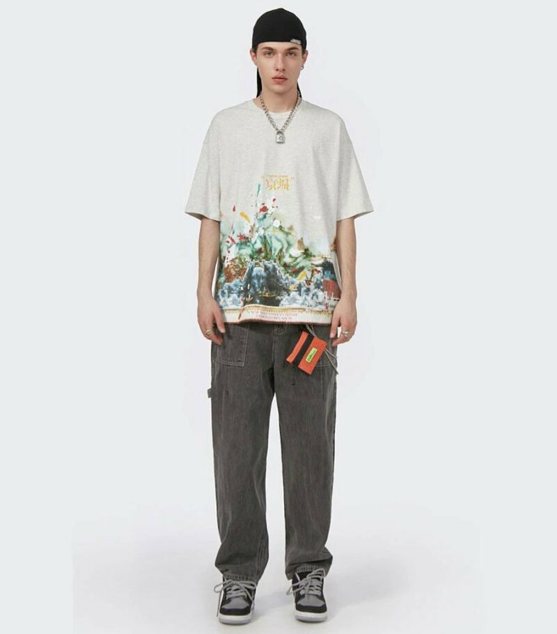 Dragon Tshirt Pixel Streetwear