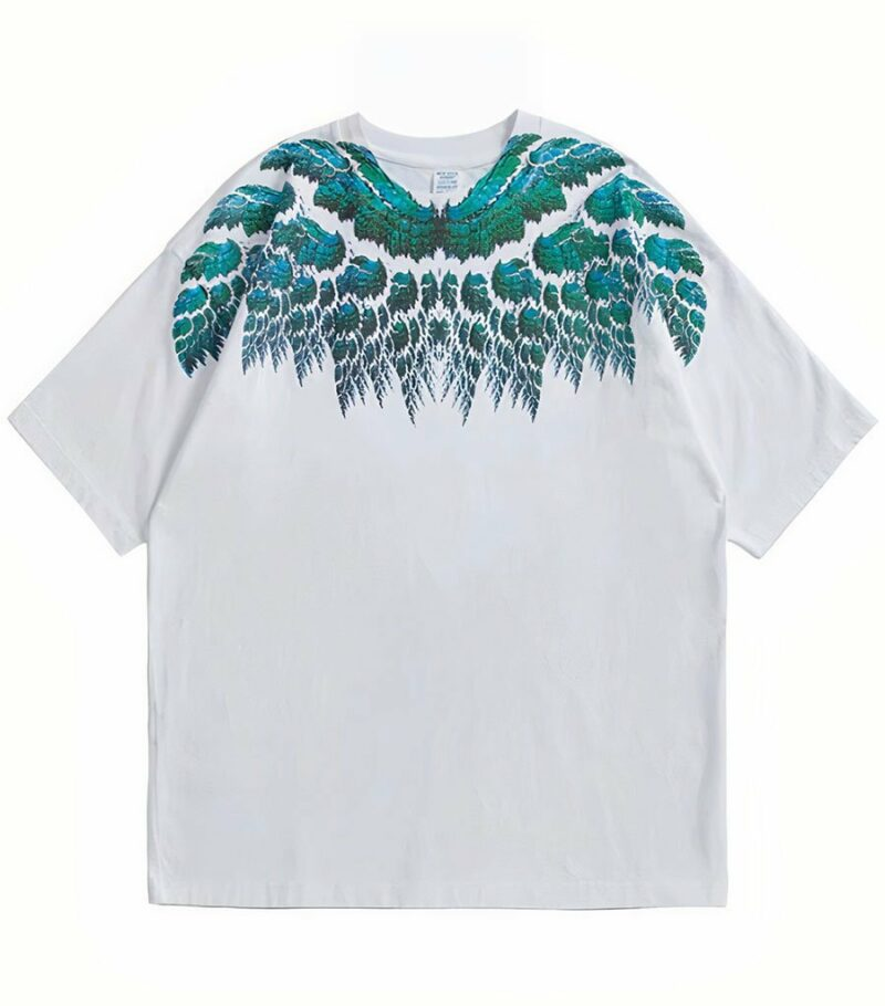 Dragon Tshirt Phoenix Feather Cotton